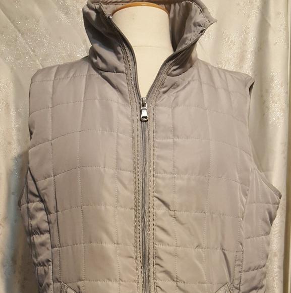 Ashley Stewart Jackets & Blazers - Ashley Stewart Size 14/16 Gray vest